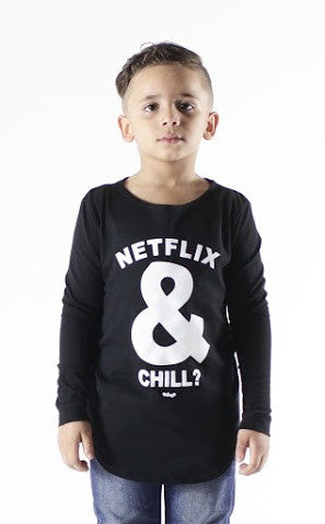 Netlix and Chill Long Sleeved T-Shirt