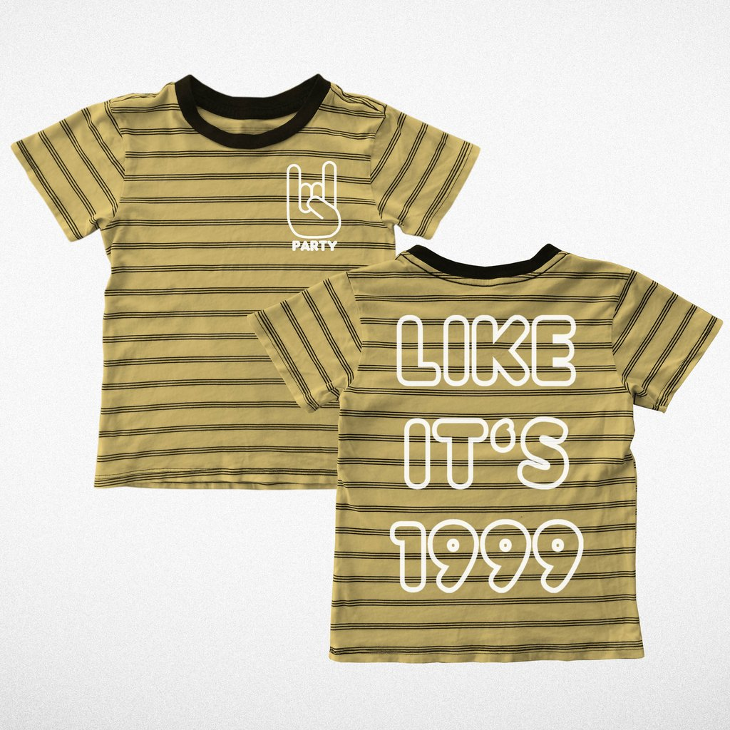 Like It's 1999 Striped T-Shirt