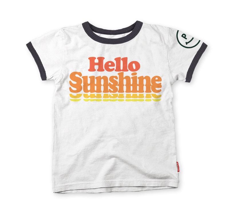 Hello Sunshine Ringer T-Shirt
