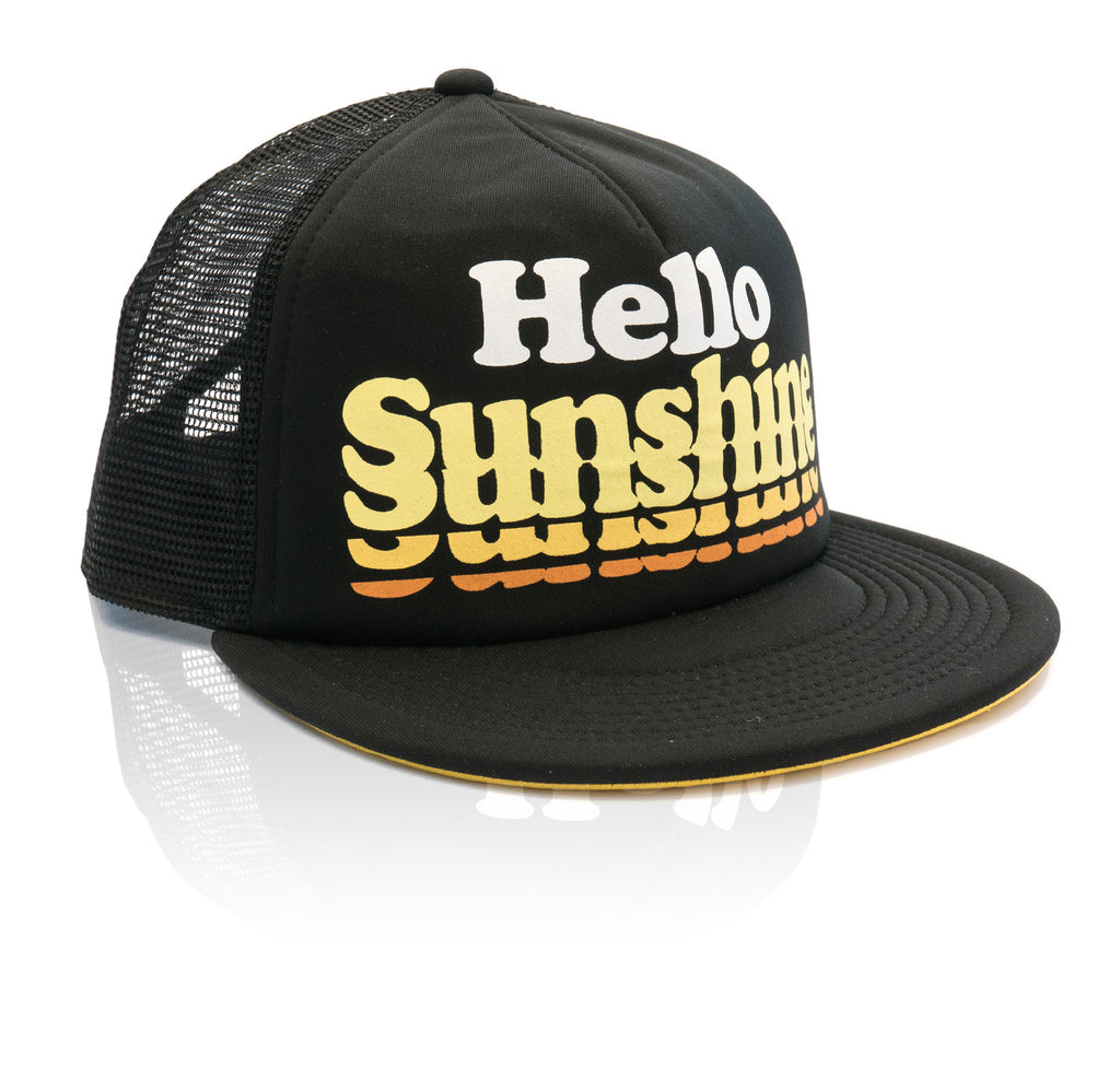 Hello Sunshine Hat - Black