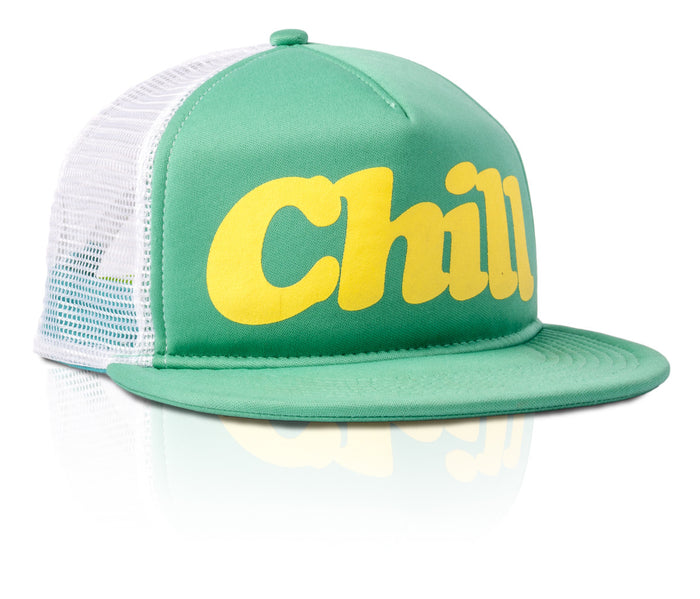 Chill Hat - Green/White