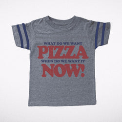 Pizza Now Football Tee