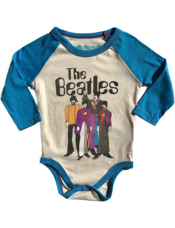 Beatles Raglan Onesie