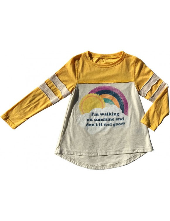 Walking on Sunshine Girls Tee