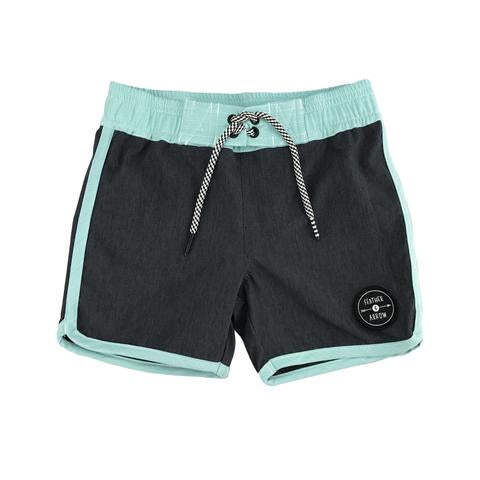 Beach Daze Boardshort - Black