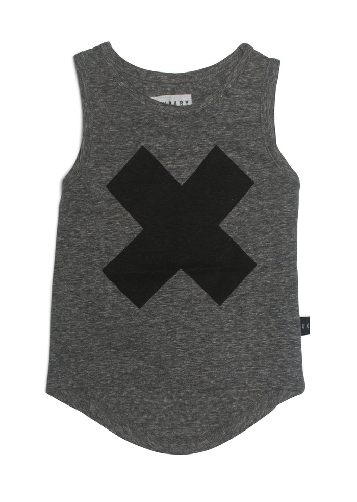 Cross Drop Back Singlet