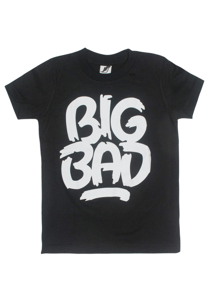 Big Bad Wolf Black by Matthew Tapia T-Shirt