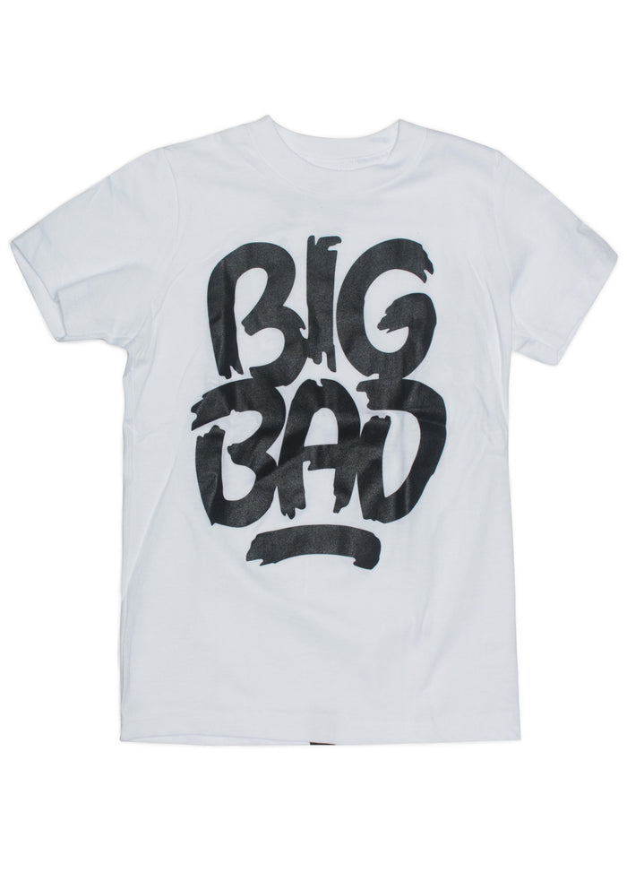 Big Bad Wolf White by Matthew Tapia T-Shirt