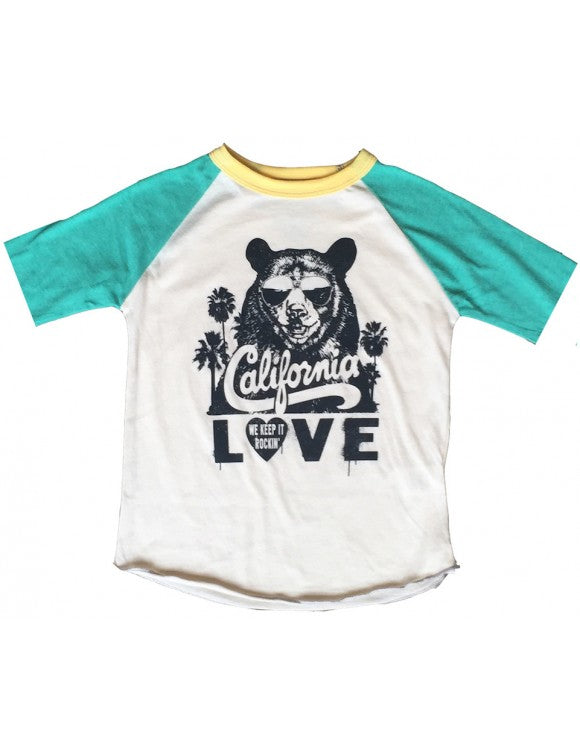 "Tupac ""California Love"" Raglan"
