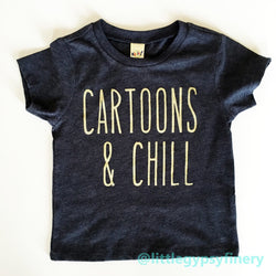 Cartoons & Chill T-Shirt