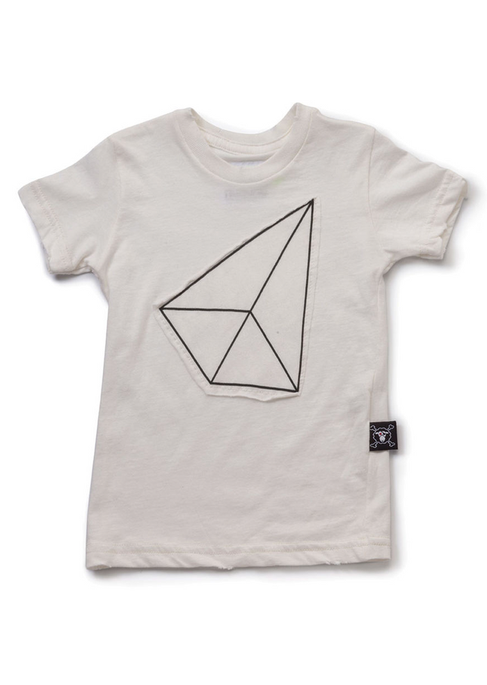 Geometric Patch T-Shirt