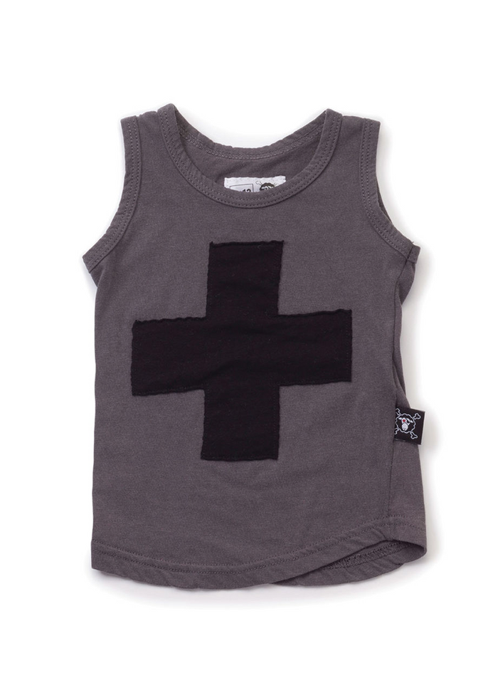 Plus Patch Tank Top