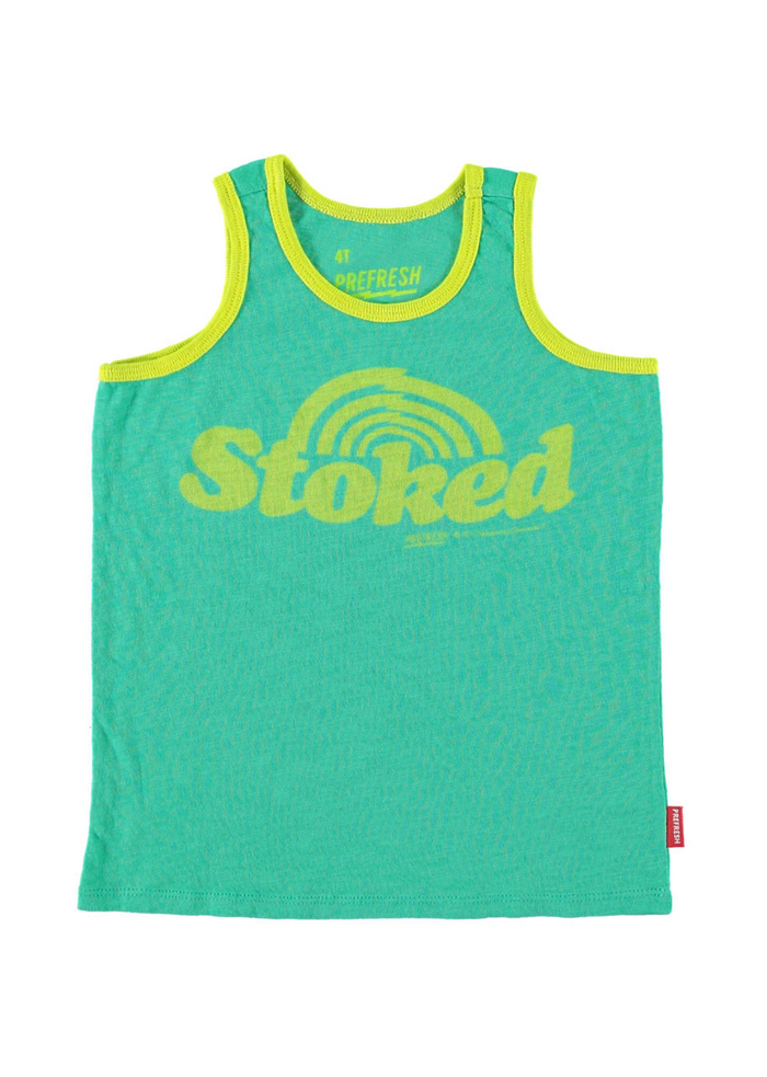 Stoked Tank Top Green
