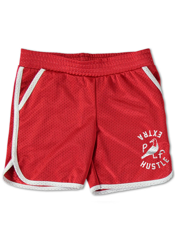 Extra Hustle Throwback Shorts Red