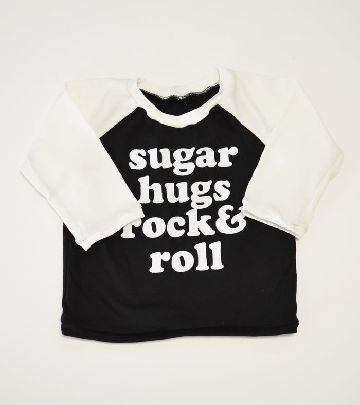 Sugar Hugs Rock & Roll Raglan