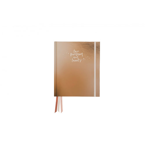 2020 Weekly Planner - Champagne Gold
