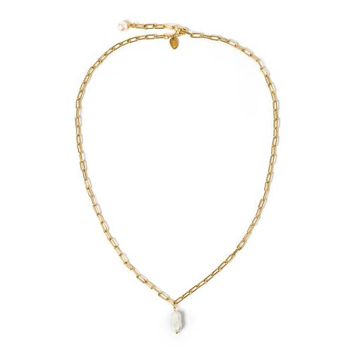 Alba Gold And Pearl Necklace