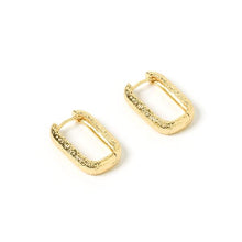 Farrah Gold Link Earrings