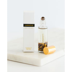 Luminous Crystal Perfume Oil Roller - Tigers Eye