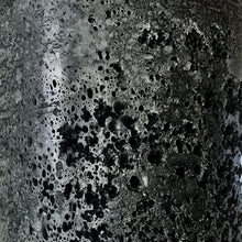 Black Textured Candle - Medium
