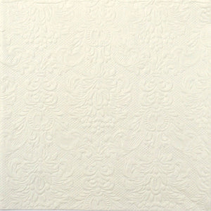 Disposable Lunch Napkin - Elegance Cream