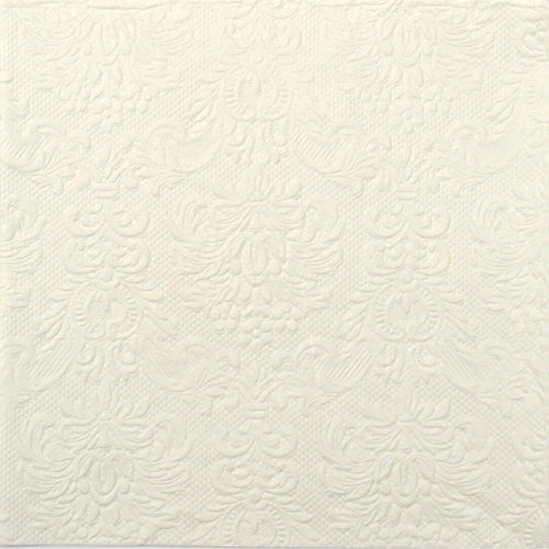 Disposable Dinner Napkin - Elegance Cream