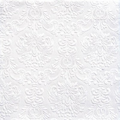 Disposable Lunch Napkin - Elegance White