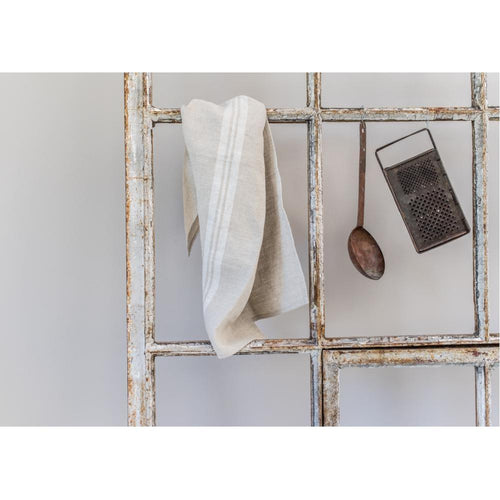 Provencal Tea Towel - White
