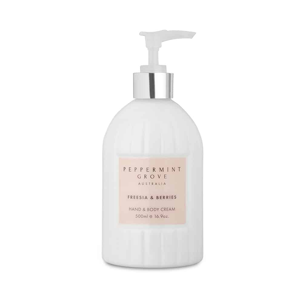 Hand & Body Cream Pump - Freesia & Berries