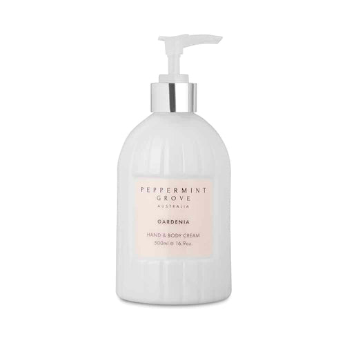 Hand & Body Cream Pump - Gardenia