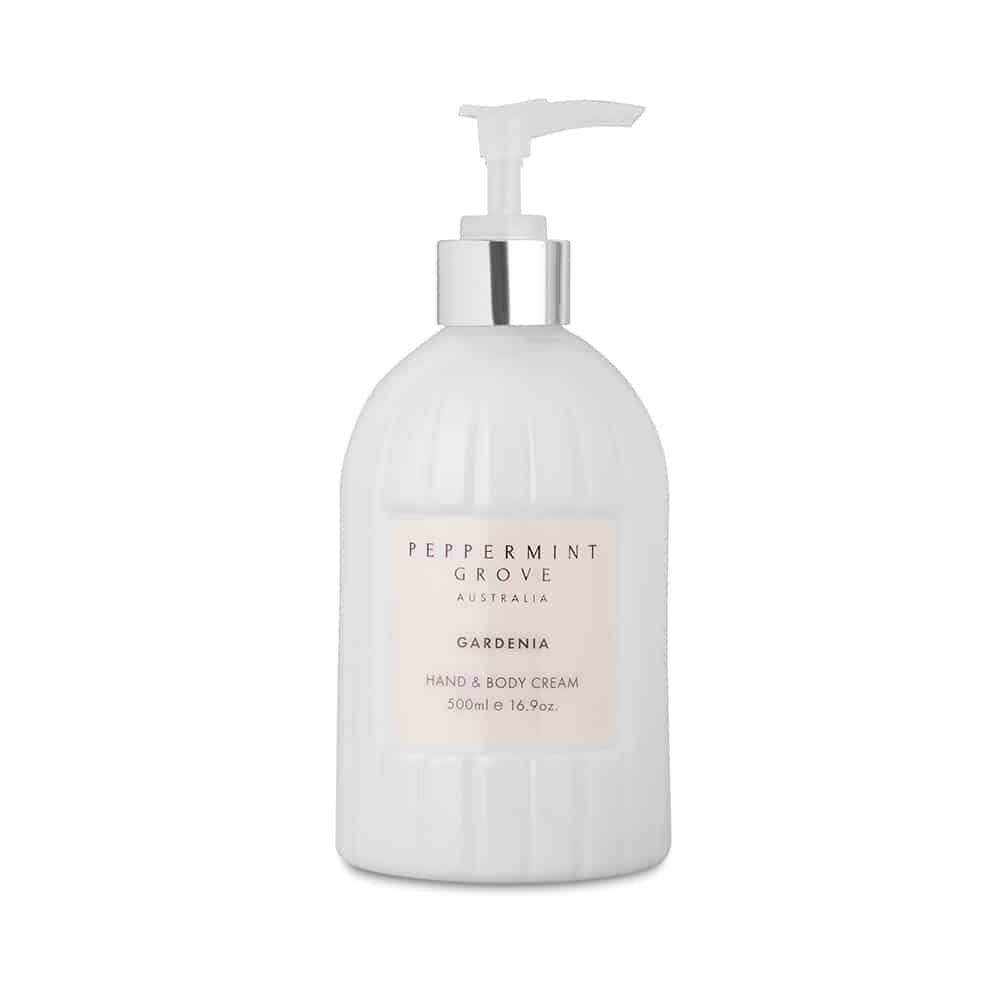 Hand & Body Cream Pump - Gardenia - CRAVE WARES