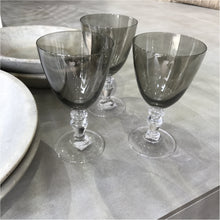 Elysee Smoke Wine Glass