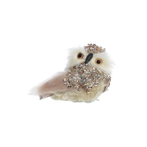 Jeweled Clip Owl - Small