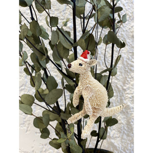 Kangaroo White - Christmas Decoration