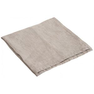 Soft Linen Serviettes - Natural