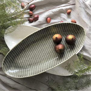 Oval Bamboo Platter - Medium - CRAVE WARES