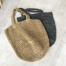 Crocheted Jute Tote Bag