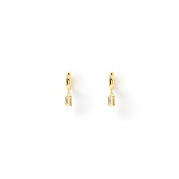 Pip Gold Charm Earrings
