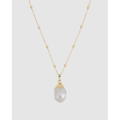 St Lucia Baroque Pearl Necklace