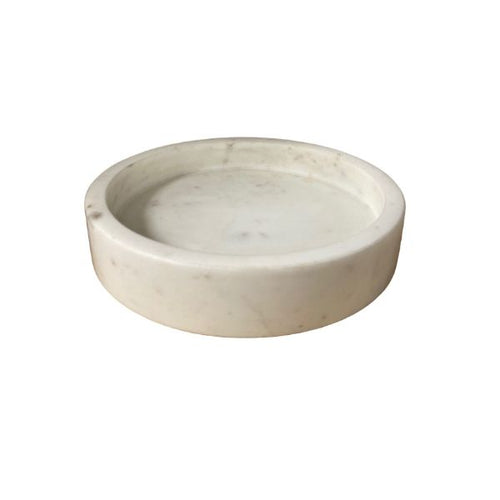 Round Marble Tray - Small