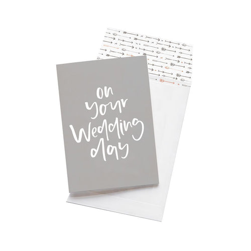 Greeting Card - On Your Wedding Day - CRAVE WARES