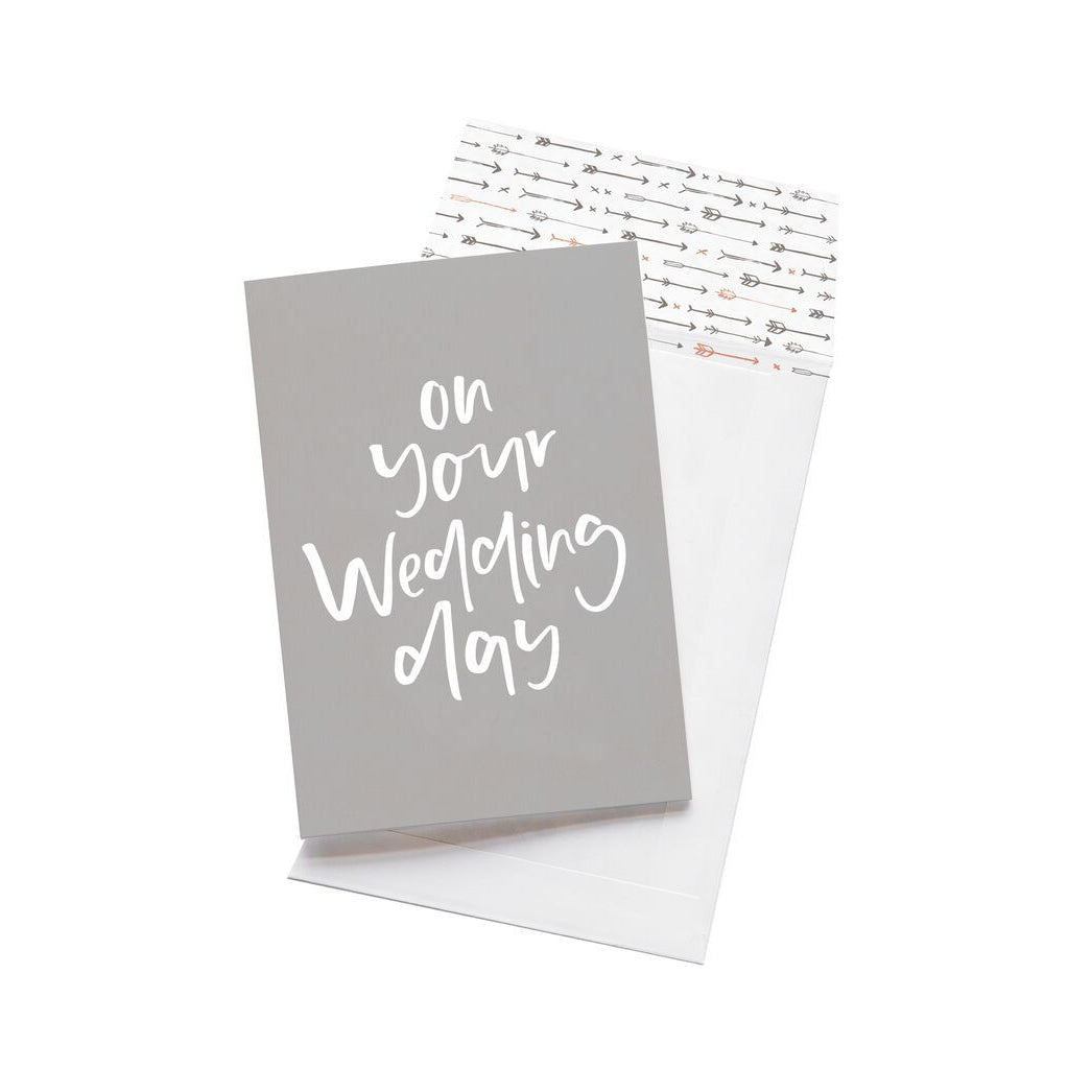 Greeting Card - On Your Wedding Day