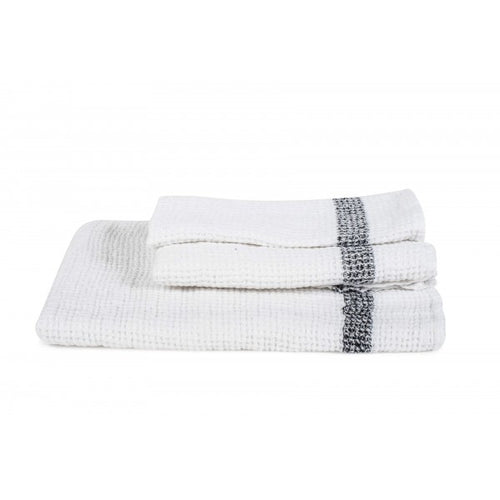 Antibes Linen Towels - White
