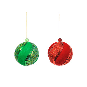 Felt & Sequin Baubles