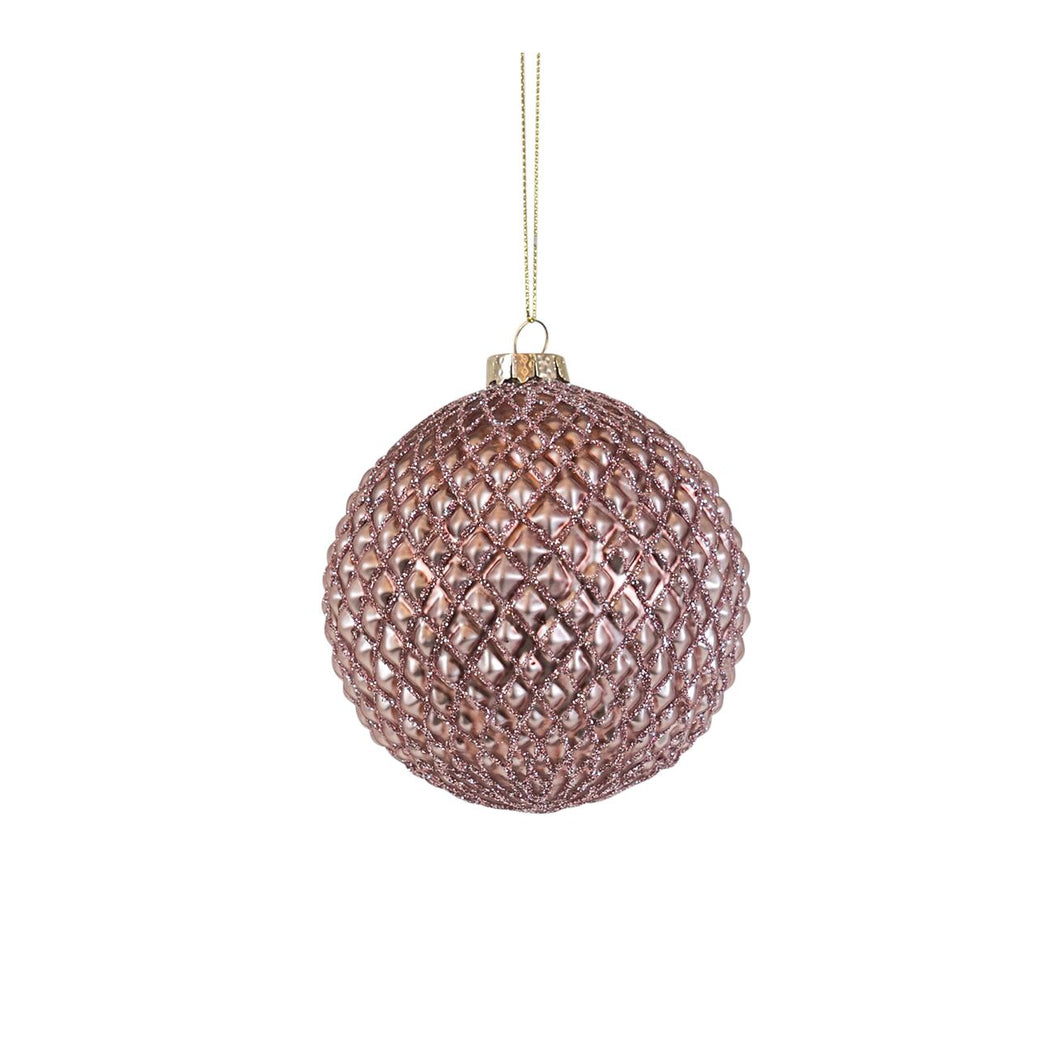 Shine Bright Like A Diamond Bauble - Pink