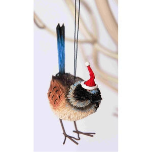 Blue Wren - Christmas Decoration