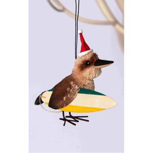 Surfing Kookaburra - Christmas Decoration