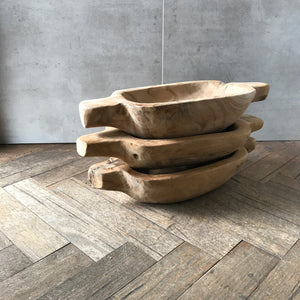 Wooden Boat Bowl