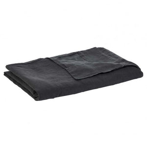 Soft Linen Tablecloth - Charcoal