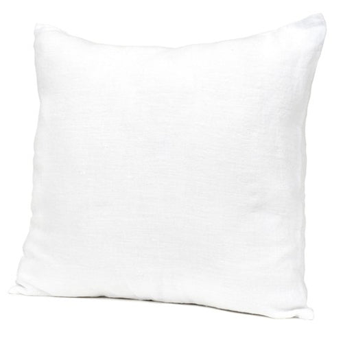White Linen Cushion - CRAVE WARES
